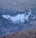 Winter Shot Of the Upper Waterfalls From The BRPW