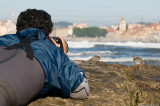 Gijón,the Great ringed plovers  and me.