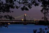 Throgs Neck Bridge- Manhattan Skyline
