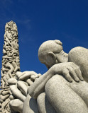 Sculpture at the Vigeland Park, Oslo