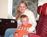 August 2008 - Donna and Kyler riding on the Royal Gorge Railroad