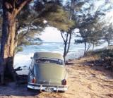 1967 - my Volvo 444 at Jupiter Island