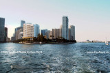 2009 - looking north at Brickell Key (former Claughton Island) (#1650)