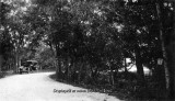 1930's - an early automobile at Arch Creek in northern Dade County