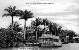 1912 - the Lady Lee docked at the Musa Isle Grove on the Miami River