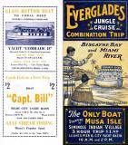 1935 - Everglades Jungle Cruise Brochure cover