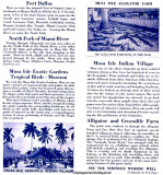 1935 - Everglades Jungle Cruise Brochure inside page