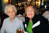 December 2009 - Esther M. Criswell and Karen at Joe's Stone Crab