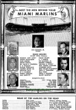 1956 - meet the men behind your Miami Marlins from the souvenir program