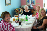 May 2010 - Karen, her mom Esther, Wendy Criswell and Donna at Mother's Day dinner