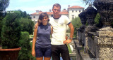 1967 - Janet Province from Knoxville, Tennessee and Don at Vizcaya