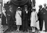 1927 - First arrival of the Seaboard Air Line Railway Company's Orange Blossom Special locomotive