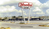 1971- the Woolco discount store sign, on NW 79th Street and 30th-31st Avenues, west of Northside Shopping Center