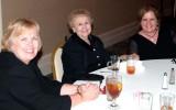 November 2007 - Karen, her mom Esther Majoros Criswell and Ouida Griner
