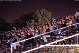 Fans at the stock races at Hialeah Speedway shortly before it closed