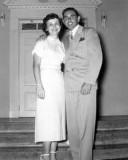 Mid 1950s - Dorothy Dotty McLane and Johnny Cheleotis Wedding