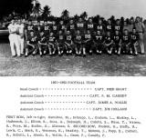 1962 - Miami Military Academy's Varsity Football Team