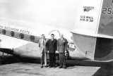 1940 - Kenneth J. Boedecker, George T. Baker and Normal Lee with National Air Lines Lockheed Lodestar