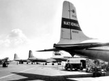 1951 - National Airlines DC-6 N90898 (C/n 43218/171) alongside Capital, American and a Colonial Airlines DC-4