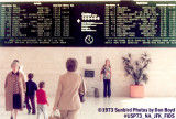 1973 - National Airlines Sundrome terminal Flight Information Display System at JFK