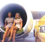 1970's - two National Airlines flight attendants