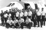 Early 1980's - most of the crew of Coast Guard Reserve Unit Air Station Miami (07-86506)