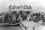 1938 - some of Miami's finest gents and ladies toasting at the Calvert Club in Stiltsville