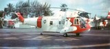 1964 - USCG HH-52A Guardian #CG-1384 on the ramp at Air Station Miami at Dinner Key