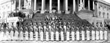 1940 - Dorothy Mendelson from Hialeah and the Miami Edison Senior High Cadettes in Washington, DC