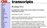 CNN has it wrong as Opa Locka Airport