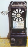 Rotary dial pay phones