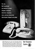 Rotary dial residential telephones