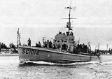 1940's - U. S. Navy Sub Chaser SC1014 in Government Cut
