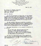 1957 - letter from Desser & Garfield, owners and developers of Carol City in northwest Dade County