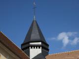Le clocher restauré