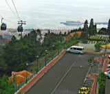 VIEW FROM TOP STATION OF CABLE CAR
