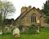 CHURCH & OLD GRAVEYARD
