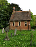 THE TINY CEMETERY CHAPEL . 1