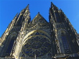 ST VITUS'S CATHEDRAL - WESTERN FACADE