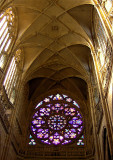 NAVE CEILING & THE ROSE WINDOW