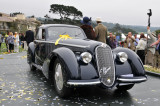 Best of Show, 1938 Alfa Romeo 8C 2900B Touring Berlinetta at the 2008 Pebble Beach Concours d'Elegance.