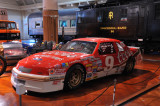 Bill Elliott set the NASCAR speed record in this pre-restrictor-plate car, with an average speed of 212.809 mph at Talladega.