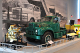 1957 Mack B61T (B Series), on loan from Mack Truck Historical Museum.