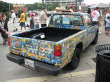 Artscape 2009 in Baltimore ... This is not your handyman's pickup truck.