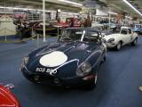 1961 Jaguar XKE Le Mans race car, not for sale