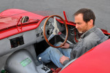 1956 Maserati 300S, with museum curator Kevin Kelly behind the wheel