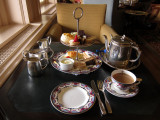 Afternoon Tea at The Empress hotel, Victoria, B.C.