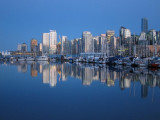 Downtown Vancouver skyline, as seen from Stanley Park