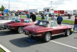 1967 Chevrolet Corvette Sting Ray convertible and 1967 Chevrolet Corvette Sting Ray 427