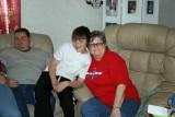 Mary, Deron and Dillon